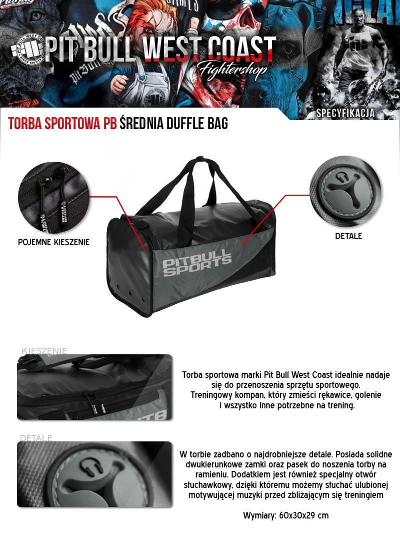f1cde2d712f2 Opis produktu. Strona główna   Torby i plecaki   Torby   Torba sportowa  średnia