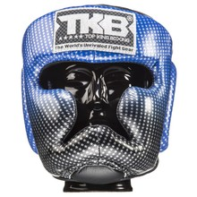 "Kask bokserski sparingowy Top King TKHGSS-01BU ""SUPER STAR"" (blue) ""K"""