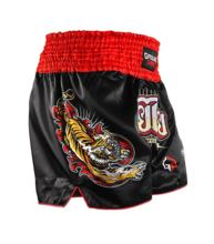 "Spodenki Ground Game Muay Thai ""Red Tiger"""