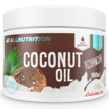 Olej kokosowy  ALLNUTRITION Coconut Oil Unrefined 500g