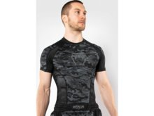 "Rashguard Venum Short sleeve ""Defender"" - Dark camo"