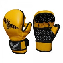 "Rękawice treningowe MMA Beltor ""Training"" yellow"