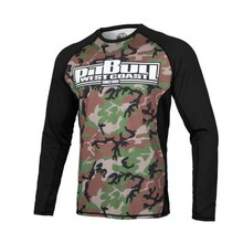 "Rashguard performance Mesh PIT BULL ""Woodlands Boxing 19"""