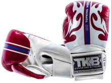 "RĘKAWICE BOKSERSKIE TOP KING TKBGWS ""World Series"" (white/red) ""K"""