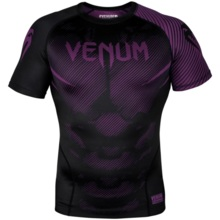 "Rashguard Venum Short sleeve ""NoGi"" 2.0 - Black/Purple"