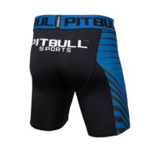 Spodenki kompresyjne PIT BULL Performance Pro + - atomic blue