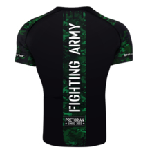 "Rashguard short sleeve Pretorian ""Fighting Army"""