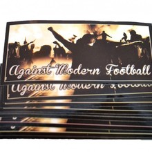"Vlepki ""Ultras Football"" 10x5 cm"