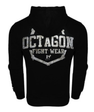 Bluza z kapturem Octagon Fight Wear II - czarna