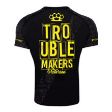 "Rashguard short sleeve Pretorian ""Troublemakers"""