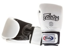 "Rękawice bokserskie FAIRTEX  BGV1-B (white/black palm) breathable ""K'"