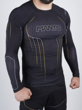 "Rashguard Manto Long sleeve ""ICON""- czarny"