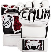 Rękawice MMA Venum Undisputed 2.0 Nappa Leather - White