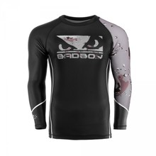 "Rashguard Longsleeve Bad Boy ""Soldier"" - Brown"