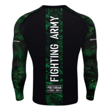 "Rashguard longsleeve Pretorian ""Fighting Army"""