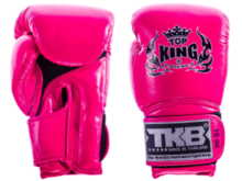 "RĘKAWICE BOKSERSKIE TOP KING TKBGSA ""SUPER AIR"" (pink neon) ""K"""