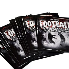 "Vlepki kibicowskie Extreme Adrenaline ""We love Football"" - 10 sztuki"