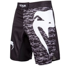 Spodenki szorty treningowe Venum LIGHT 3.0 FIGHTERSHORTS Black/Urban Camo
