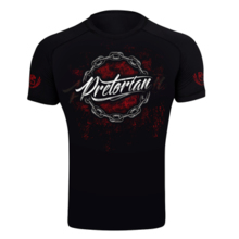 "Rashguard short sleeve Pretorian ""No Mercy"""