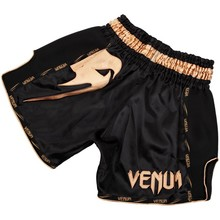 "Spodenki Muay Thai Venum ""Giant"" - Black/Gold"