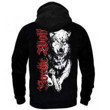 a2f611bda ... Bluza z kapturem Nordic Wolf