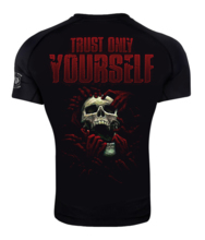 "Rashguard short sleeve Danger Wear ""Dark Side"""