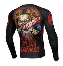 "Rashguard PIT BULL longsleeve ""Wanna Play Games"""